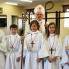 Archbiship Prendergast and Altar Servers