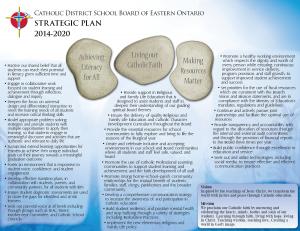 2014-2020 Liturgical Calendar Multi year Strategic Plan | Catholic District School Board of