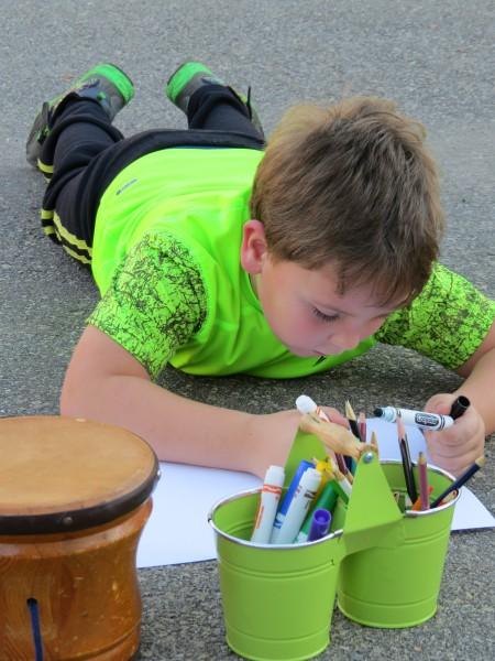 outside class gr 1,2 art, music Marshall Hall