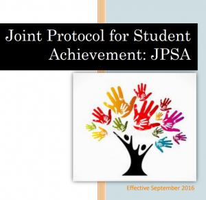Joint Protocol for Student Achievement