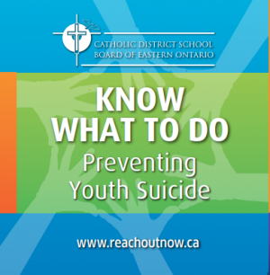 Youth suicide prevention - Know What To Do